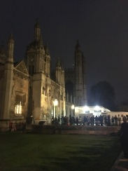 Will and I had the amazing opportunity of attending the Kings College Chapel Lessons and Carols service on Christmas Eve!