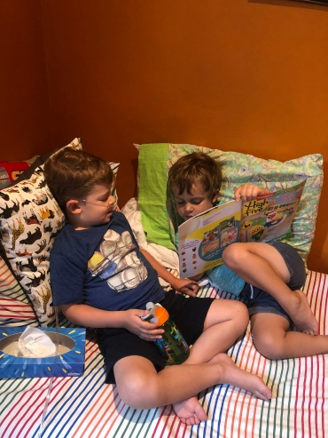 Reading brothers