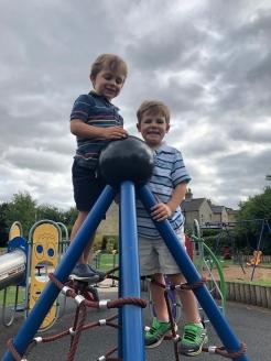 Playground fun.