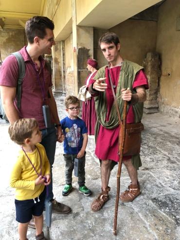 Met an actual Roman (not presently bathing)