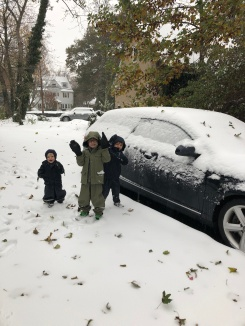 We even got snow!